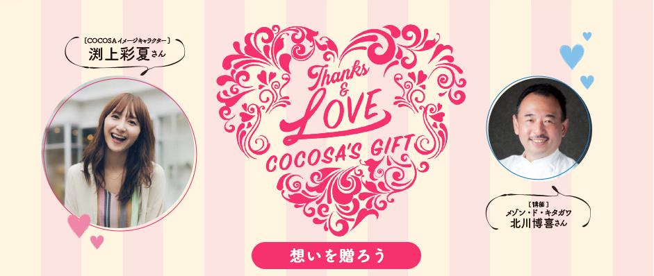 Thanks LOVE COCOSA'S GIFT