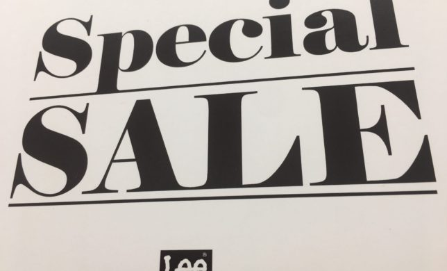 Special Sale..☆彡