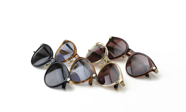 フォトジェニックサングラス 金子眼鏡 「KVS-05」