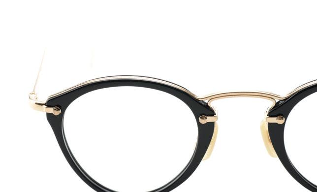 チタニウムリムの繊細なフレームワーク 金子眼鏡 「KV-62」
