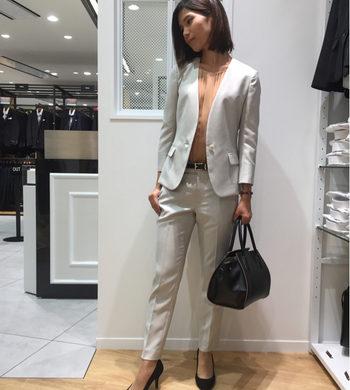 レディース☆新作ウォッシャブルスーツ