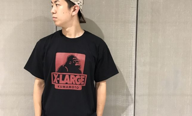 XLARGE熊本限定TEE!!!!