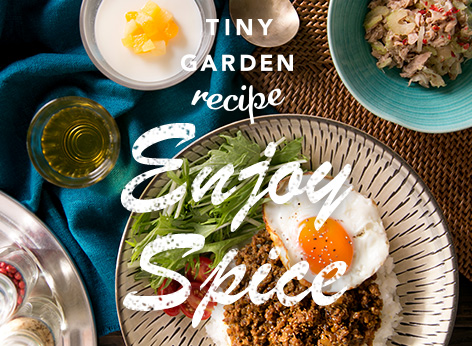 TINY GARDEN recipe -Enjoy Spice-