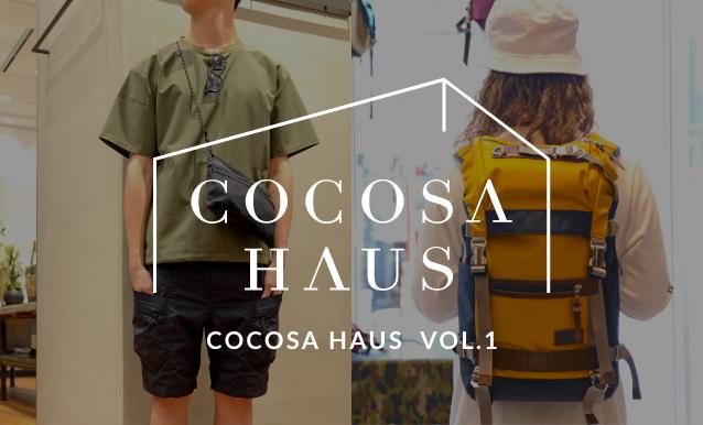 COCOSA HAUS(ココサ ハウス)VOL.1