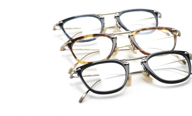 巧緻を極めた熟練の技 金子眼鏡 「KV-61」
