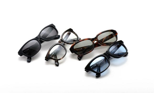 才色兼備なサングラス 金子眼鏡 「KCS-09~12」