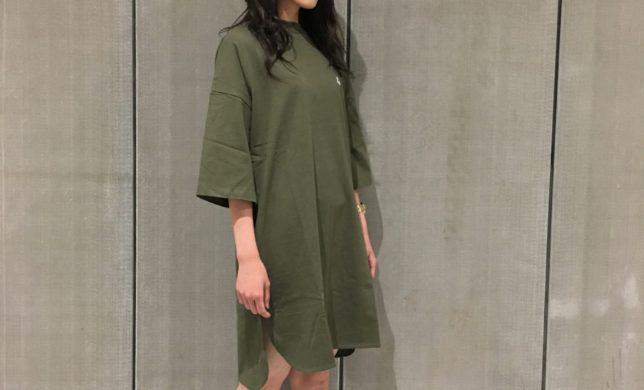 Ladys新作☆MOCKNECK DRESS