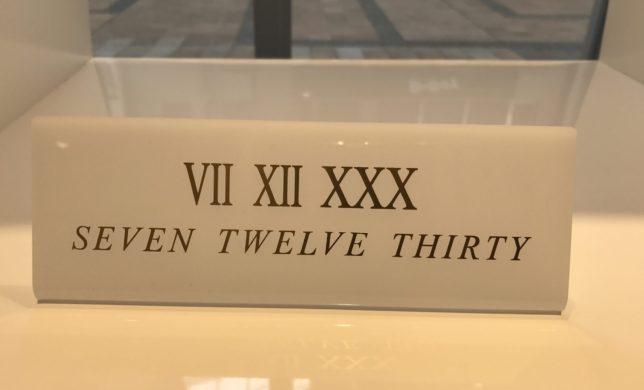 VII XII XXX(セブントゥエルブサーティ)新作入荷☆☆
