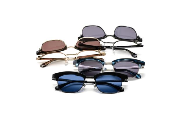 フリップアップサングラス SOPHNET. × 金子眼鏡