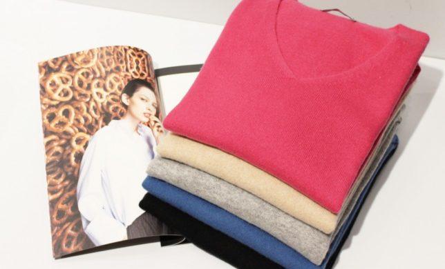 """Cashmere Knit"" 贅沢な時間を一緒に‥"