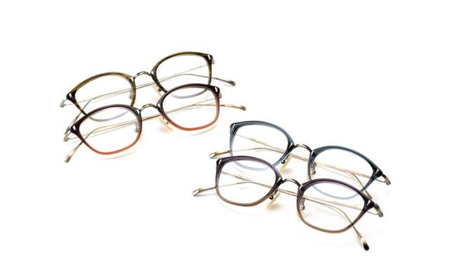 カシメ飾りのスパイス 金子眼鏡 「KV-53」「KV-53L」