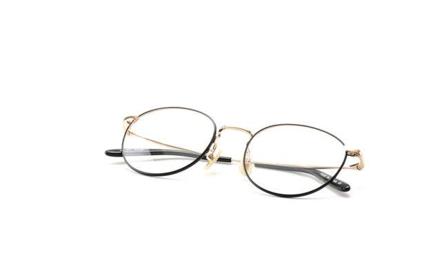 まるい形がちょうどいいボストン 金子眼鏡 「KV-59」