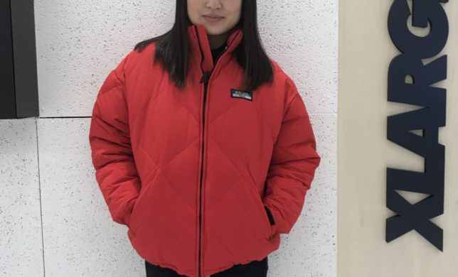 X-girl★QUILTED DOWN JACKET