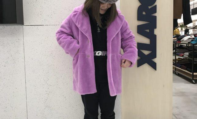 X-girl★★★JUICY FUR COAT!