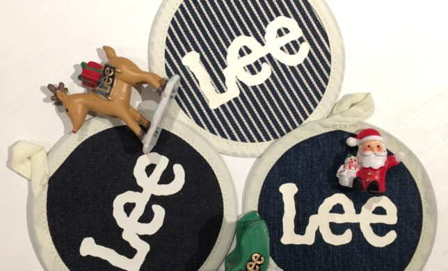 雑貨☆Lee Logo Coaster