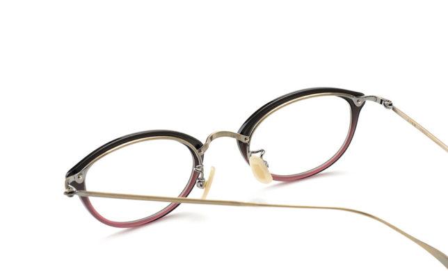 ネオクラシカルなセルコンビ 金子眼鏡 「KV-69L」