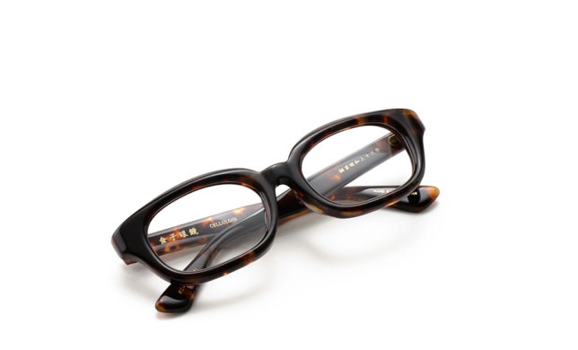貫禄のあるウェリントン 金子眼鏡 「KC-54」
