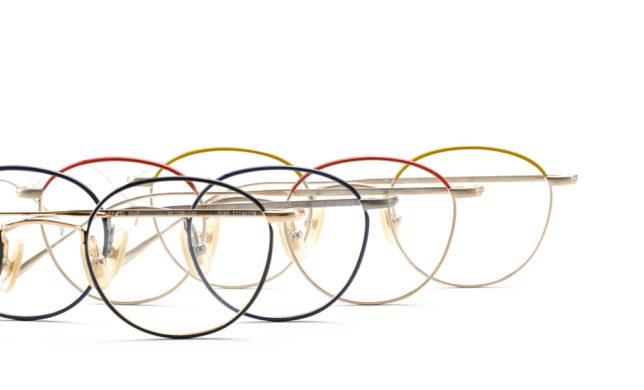 カラーバリエーション豊富なボストン 金子眼鏡 「KV-78L」