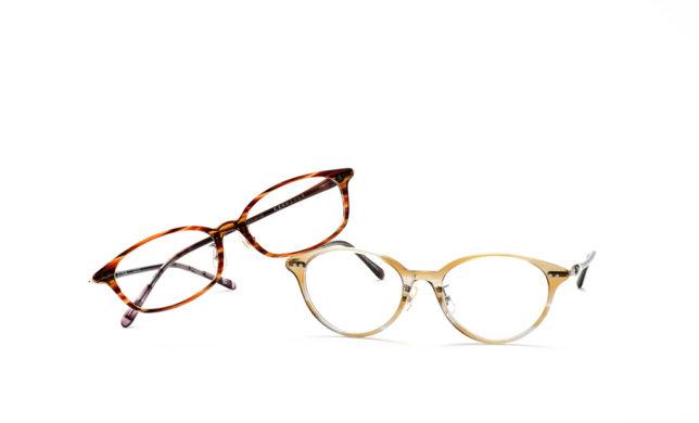 アセテートの繊細な色合い 金子眼鏡 「KA-11」「KA-12」
