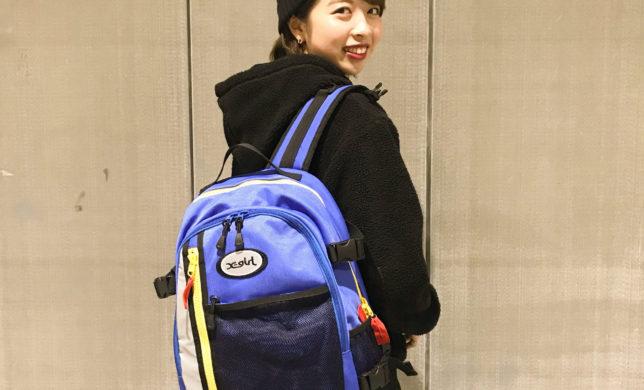 X-girl 新作BACK PACK!!★