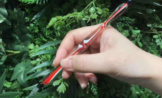 繊細なガラスペン◎