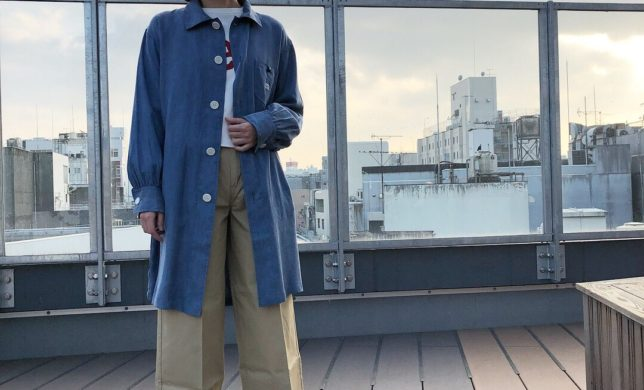 レディース新作☆LOOSE FIT SPRING COAT