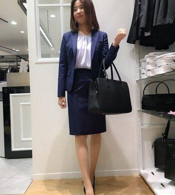 レディス☆上質生地【REDA】ストライプスーツ