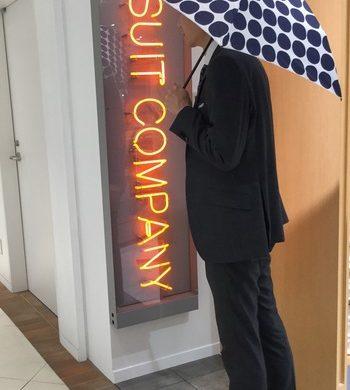 突然の雨にも対応できるスリム&軽量傘☆