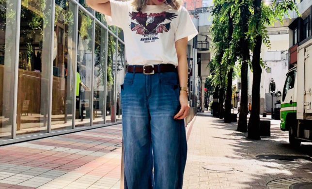 Tシャツオススメのコーディネート!