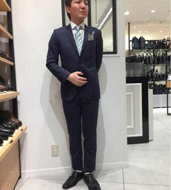 爽やかスーツ