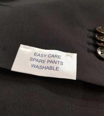 ウォッシャブル可能!2PPスーツ