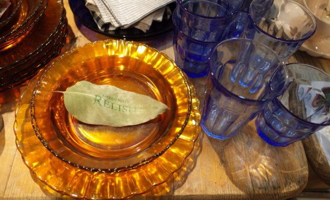 ガラス食器!