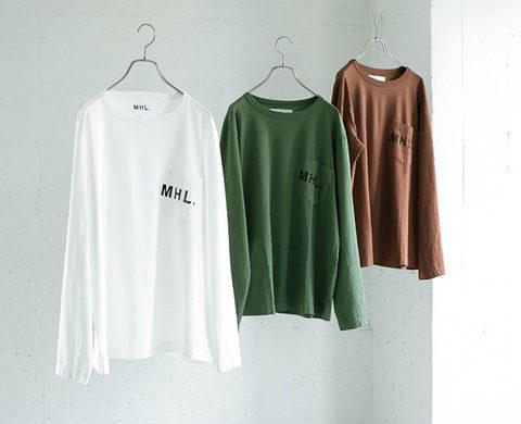 MHL. × URBAN RESEARCH 別注PRINTED L/S TEE
