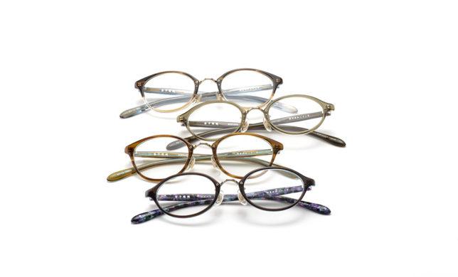 優しいかたちのコンビネーション 金子眼鏡 「KA-13」「KA-14」