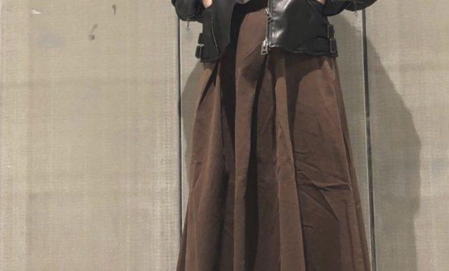 秋におススメのミリタリースカート!
