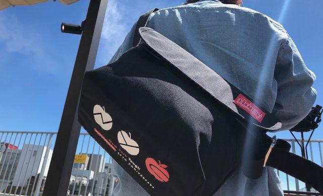 NYC Print Vintage Messenger Bag