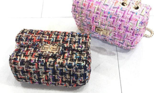 TWEED SHOULDER BAG 👜♪♪