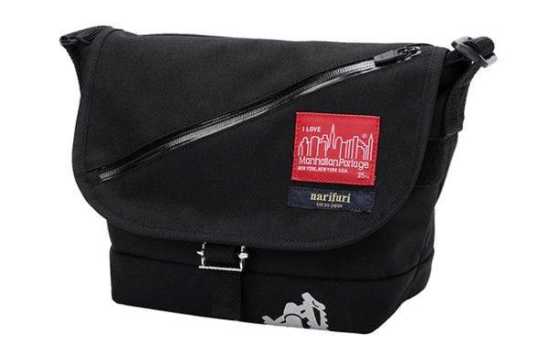 Manhattan Portage × narifuri Casual Messenger Bag JR