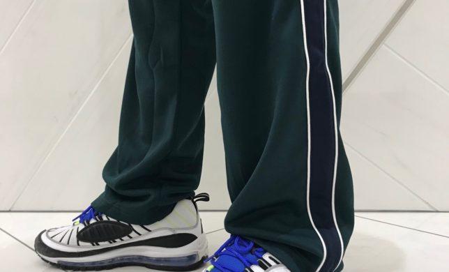 メンズ☆SIDE LINE JERSEY PANTS