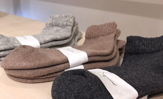 冬に向けてYUiNOの靴下はいかがですか?