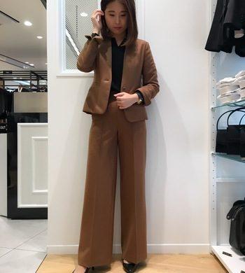 レディス☆VERY掲載 ウールジャージースーツ