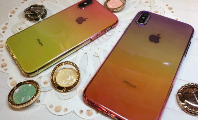 iPhoneX/Xs/XsMax˖✧オーロラケース