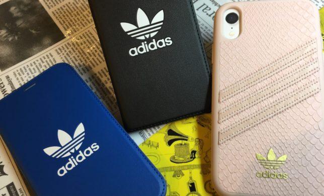 iPhoneXR ☘️ adidasケース