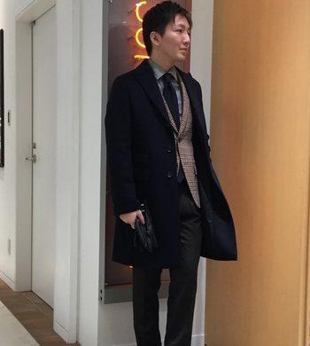 干場氏企画第二弾★ウール×カシミヤコート