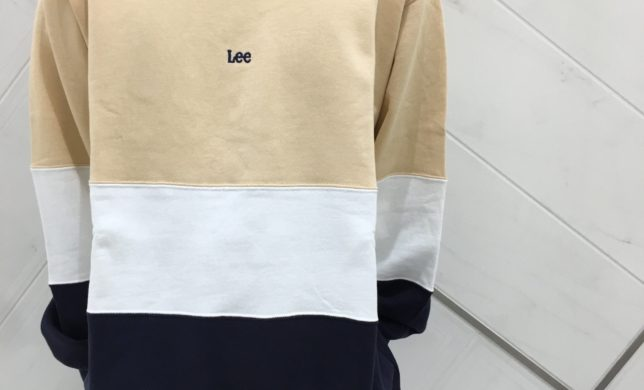 新作☆PANEL CREW NECK SWEAT