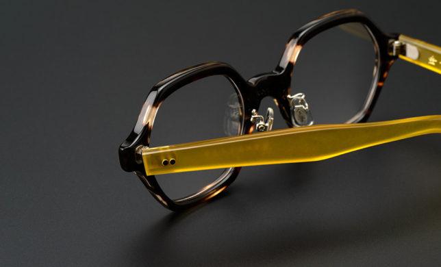 ゆとりサイズのヘキサゴン 金子眼鏡 「KC-63」