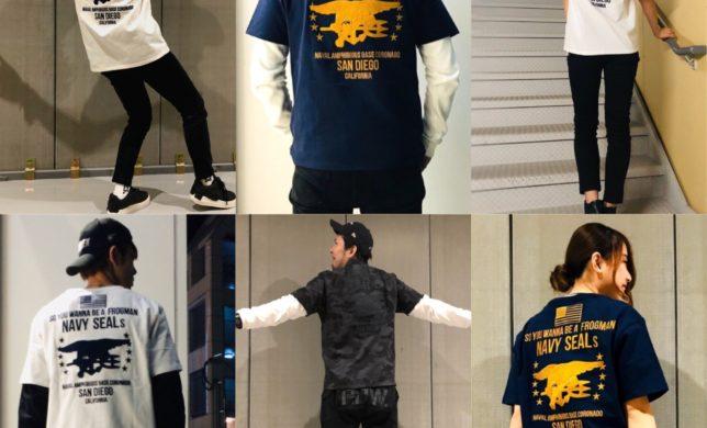 直営店 数量限定Tシャツ 今日から発売開始!