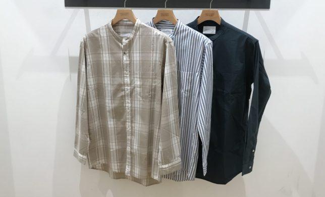 MENS NEW ITEM : ブロードバンドカラーシャツ