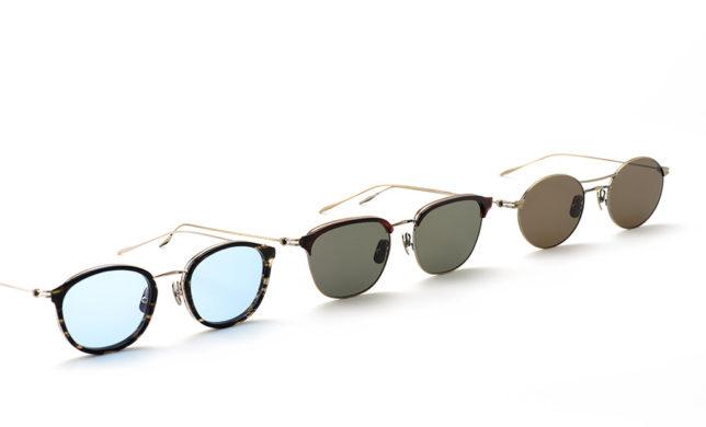 金属加工の技が冴えるメタルサングラス 金子眼鏡 「KMS-01」「KMS-02」「KMS-03」