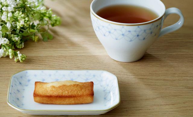 【母の日ギフト】mg&gk フィナンシェと紅茶の器